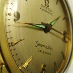 FINE EXAMPLE OF A OMEGA SEAMASTER CALENDER 1956