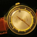 Omega Vintage Watch with Rare Case & Dial