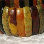 Quality Vintage Agate Bangle
