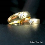 Antique 18ct Gold Mens & Ladies Wedding Rings