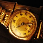 Vintage 9ct Gold Uni~Sex Watch