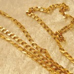 Vintage 9ct Gold 63cm Gents Or Ladies Neck Chain