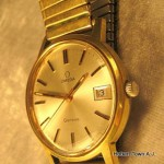 Omega Geneve Date MOP 34m Dial Watch