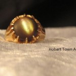 Rare Antique Tahitian Star Shell Ring