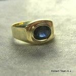 Vintage Sapphire Uni Sex Ring 1.15ct approx;