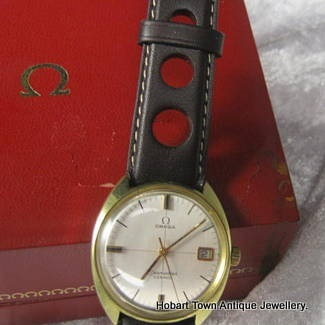 Omega Seamaster Cosmic Date With Cross Hairs Dial
