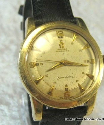 Extremely rare Omega Seamaster Military Dial Cal;351 c1951 Bumper Auto