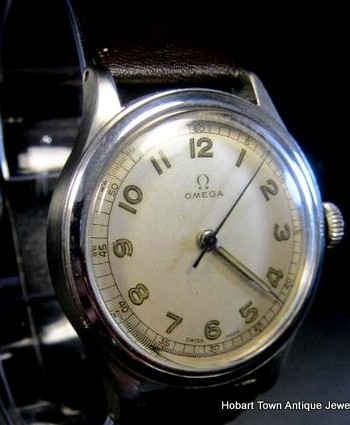 Outstanding Omega Army Issue 30T2  c1940's Radial Dial