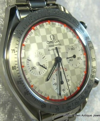 Omega Speedmaster Michael Schumacher Racing Limited Edition Ref;3517.30