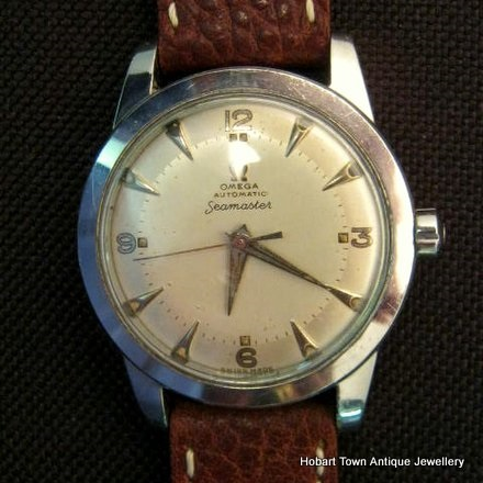 Omega First Seamaster Model Made 1948 ~ 49 All Orig; Ref;2577