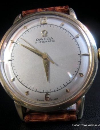Superb Vintage Omega Bumper Automatic Watch c1950   [04