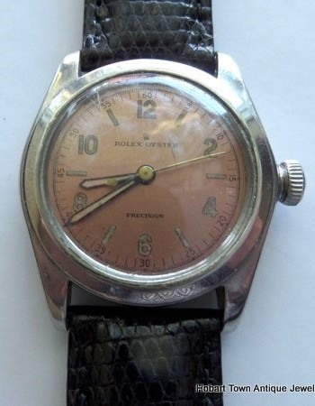 Fine Early Rolex Oyster Precision with Original Dial etc c1940