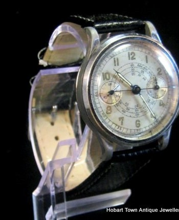 Extremely Rare Moeris 1930's Chronograph in Original Condition