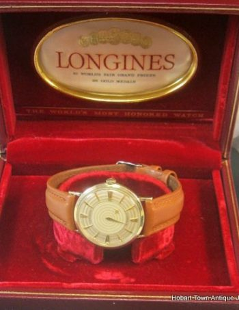 Longines Vintage Retro Mystery Dial Automatic Rarest Dial c1960's