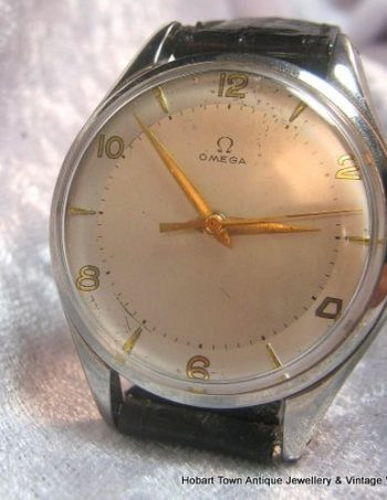 Rare Huge Vintage Omega 38.5mm Cal;283 Ref;2506 Original c1949