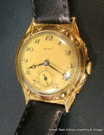 Museum Grade Early Mimo ~ Girard Perregaux Stunning Gents Vintage Wristwatch