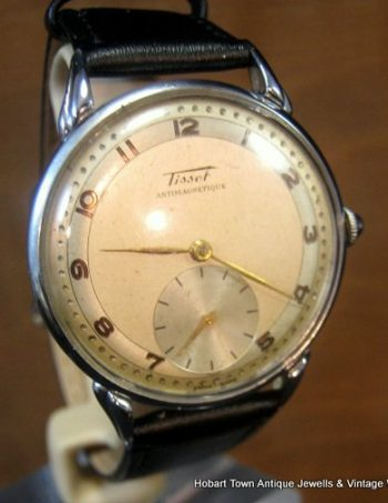 Fantastic ww2 Military Style TISSOT – Omega Over Size Original Watch