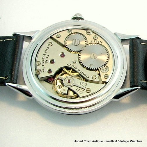 Fantastic ww2 Military Style TISSOT - Omega Over Size Original Watch