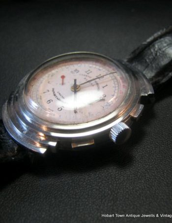 Outstanding Lge Cuervo y Sobrinos Habana Vintage Chronograph c1930's