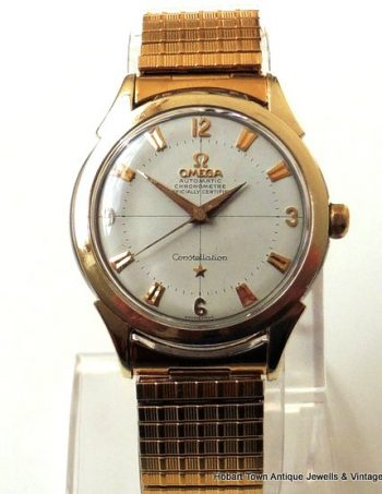 Omega Pie Pan Constellation Deluxe Rose Gold St.Steel Chronometer Ref;2852