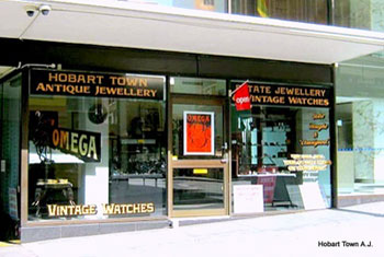Hobart Town Antique Jewellery & Vintage Watches Shop
