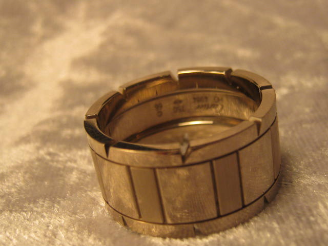 Cartier Men s 18ct Gold Ring Hobart Town Antique Jewellery