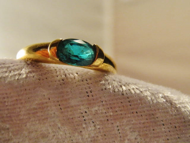 vintage stone green silver deco jewelry emerald estate sterling art ring ladies