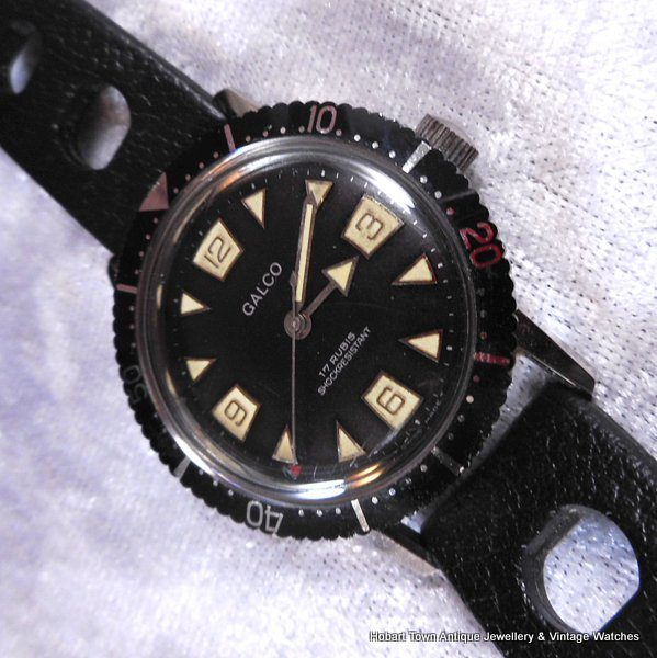 Gallet Galco Divers watch