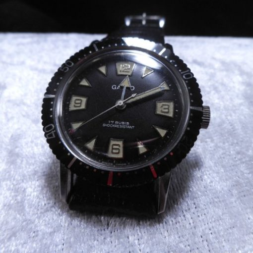 Rare Galco Gallet 1960's Divers 38m Watch All Original