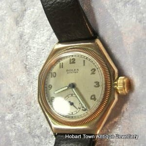 Rolex Oyster Vintage First Edition Oyster Gold Octagonal Gent's
