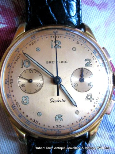 Exceptional Breitling 1950's Chronograph Ref;1190 Cal;188 Mint Rarity