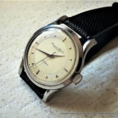 Superb IWC 1950 Automatic 35m Rare Cal;85 St'Steel Gents Watch