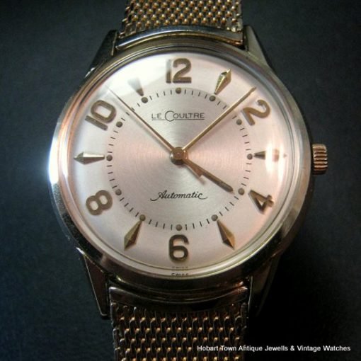 Jaeger LeCoultre Over Sized Numerals Vintage Watch