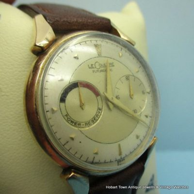 Untouched Jaeger LeCoultre Futurematic Long Lug Power Reserve