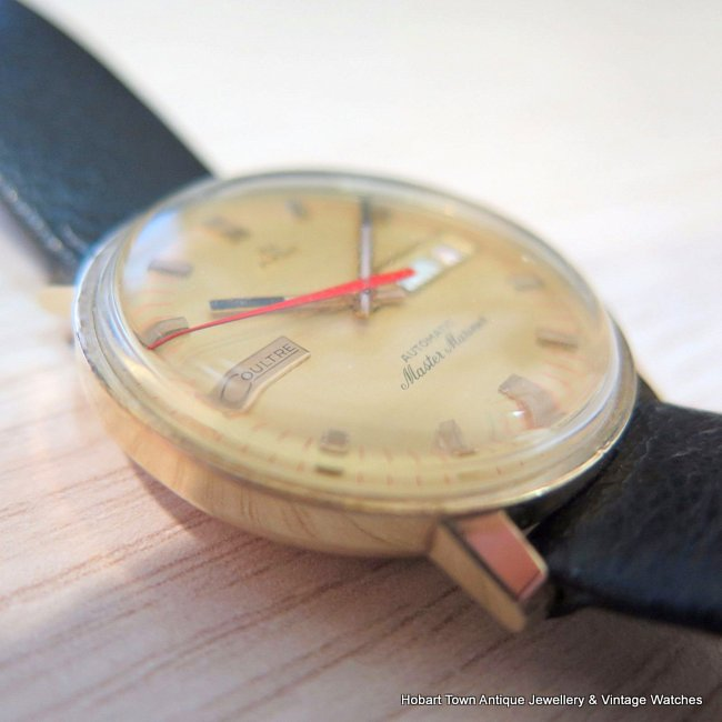 Rare Jaeger LeCoultre Master Mariner Day Date Vintage Watch