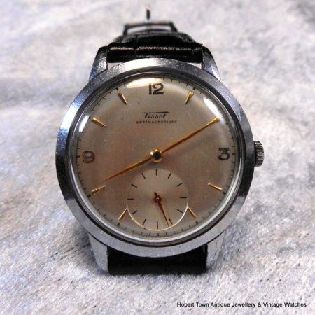 Fine vintage Tissot 35m sub seconds c1949 watch