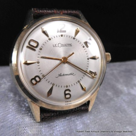Stunning Jaeger LeCoultre Bumper Automatic Cal;476-3 Mint Rare Dial c1952