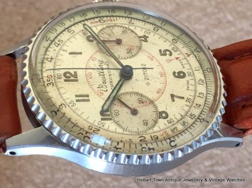 Breitling Chronomat 217012 Ref;769 Slide Rule Chronograph 1947