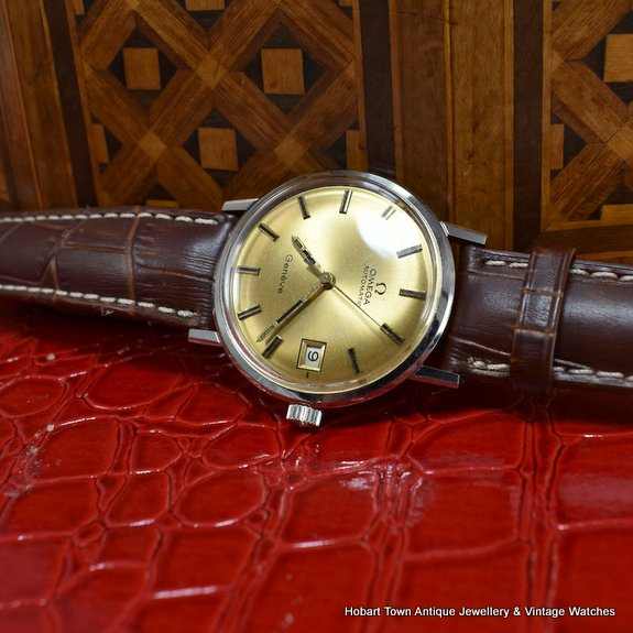 Omega Geneve Automatic Cal;565 1960s Boxed Watch